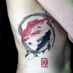 Home - tattoo spirit - , , A simple circle with so much meaning The Ensō (Japanese: circle) is a symbol from Japanese cal - Asian Tattoos, Black Tattoos, Body Art Tattoos, Tatoos, Rib Tattoos, Bad Tattoo, Tattoo Life, Tiny Tattoo, Home Tattoo