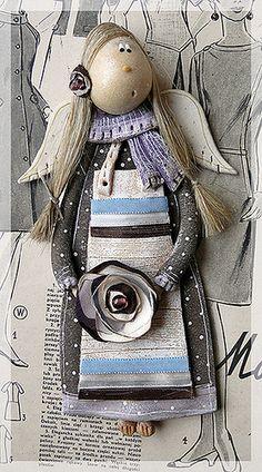 Salt dough angel by Paulina Silarow