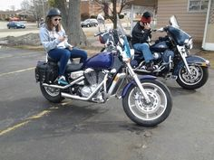My old Honda Shadow Spirit 1100. Great bike just not comfortable for my Lady. My kids loved it.