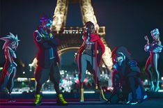"""Released on Sunday (Nov. to coincide with the annual League of Legends Championships, """"Giants"""" features the voices of Becky G, Duckwrth, Keke Palmer, Lol League Of Legends, Akali League Of Legends, League Of Legends Characters, League Of Legends Personajes, Diana, Giants Team, Malinda Williams, Riot Games, Keke Palmer"""