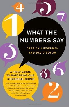 What the Numbers Say: A Field Guide to Mastering Our Numerical World by Derrick Niederman
