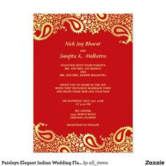 single page email wedding invitation diy template indian design 2