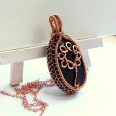copper <3 ... (a tiny tree of life instead of daisy)