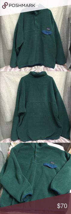 Patagonia Fleece Sweater Very thick fleece to keep you warm and cozy in good condition Patagonia Sweaters