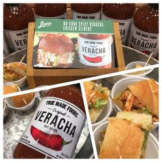 True Made Foods has done it again with their take on a healthy, veggie filled Siracha sauce! We made delicious, spicy chicken sliders with the sauce, topped with coleslaw for that extra bit of crunch. Unique, delicious, and HEALTHY!