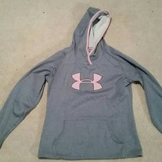 Under Armour Hoodie Super comfy and cute, great for winter. Like new, only worn a few times Under Armour Tops Sweatshirts & Hoodies