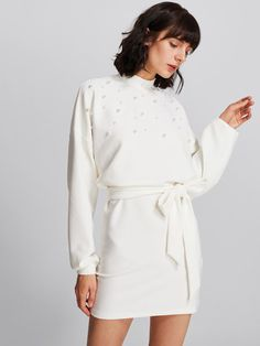 perle vestito bianco