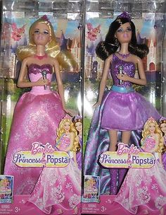 BARBIE PRINCESS POPSTAR LOT 2 DOLLS TORI & KEIRA NEW! on eBay!