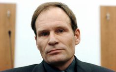 """Armin Meiews  This German was looking for """"the ultimate kick"""" when posted an a cannibal website in 2001, asking for """"a well-built 18- to 30-year-old to be slaughtered and then consumed."""" When he received a serious response, Meiews videotaped himself cutting off the voluntary victim's penis, which the two attempted to eat together. Meiws then killed the man and cannibalized the body, all on tape"""