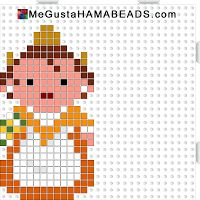 Hama Beads Fallera