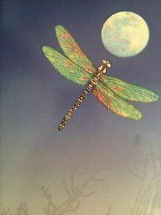 ❣Julianne McPeters❣ no pin limits Dragonfly Wall Art, Dragonfly Tattoo, Dragonfly Symbolism, Dragonfly Quotes, Moon Art, Spirit Animal, Illustration, Fantasy Art, Art Drawings