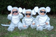 Triplets. Three Blind Mice. I need more babies.