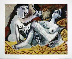 Pablo Picasso - Les deux amies, 1965