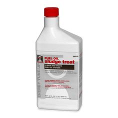 Hercules 35310 Sludge Treat Fuel Oil System Cleaner, 1 Qt, Light Brown