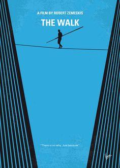 The Walk (2015) ~ Minimal Movie Poster by Chungkong #amusementphile