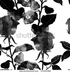 Image result for silhouette rose corner