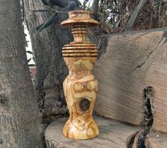 A Unique Modern Olive Wood Sculpture  from Ellenisworkshop by DaWanda.com