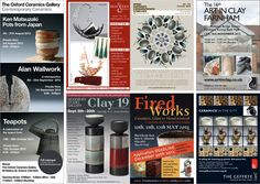 Do you have an event or exhibition coming up in the Autumn? Why not try advertising in Ceramic Review! The deadline for our Nov/Dec magazine, which comes out on Monday 15 October, is Monday 3 September. Contact Louise Sanders at advertising@ceramicreview.com, for more information on either display (see image) or classified adverts.