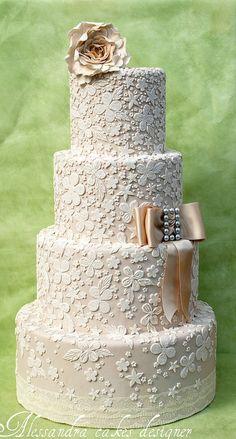 beautiful wedding cake Wedding cake - elegant wedding cake design different colors Beautiful Wedding Cakes, Gorgeous Cakes, Pretty Cakes, Amazing Cakes, Cake Wedding, Wedding Cake Inspiration, Wedding Ideas, Wedding Photos, Wedding Week