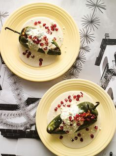Chiles en Nogada  (Stuffed Peppers with Walnut Sauce)