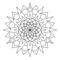 Make-your-own Mandala site.  It also includes free mandala  printables which you can also color on your computer or print and color by hand.