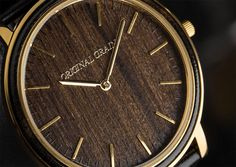 Must Buy: Handcrafted Watches with Wood Dials!
