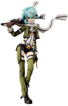 Amazon.co.jp | ソードアート・オンラインII シノン 1/7スケール ABS&PVC塗装済み完成品フィギュア | ホビー 通販