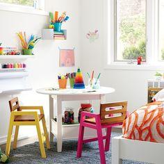 Designing A Kids Bedroom, Workspace