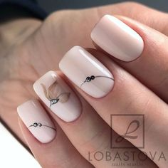 133 natural summer pink nails design for short square nails page 36 Nägel ideen Nude Nails, My Nails, Short Square Nails, Pink Nail Designs, Nails Design, Nagellack Trends, Manicure E Pedicure, Stylish Nails, Flower Nails