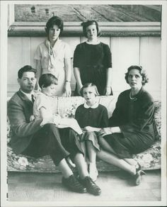 Michael I of Romania and his family. Michael I Of Romania, Romanian Royal Family, Who Is Your Father, Central And Eastern Europe, Canadian History, Vintage Rock, King Queen, Pet Portraits, Vintage Photos