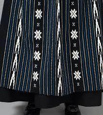 Woven apron for the Sunnhordland bunad.
