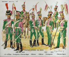 Historex Officer Lancers of Berg 1809 1812 Mounted French Revolution, American Revolution, Military Art, Military History, Army Uniform, Military Uniforms, French Army, Napoleonic Wars, Russia
