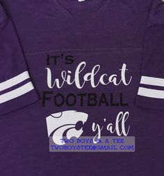 It's Wildcat Panther any team or mascot Football or sport y'all custom on LAT…