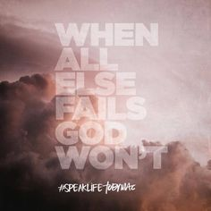 We often feel like we're drowning when there are just too many life's problems and challenges. We must choose to remember that God doesn't lie; His words does not come back void. If we could just take a moment to meditate on that ONE promise He has given to us, it's a great reminder of how faithful He is. Read more: http://godsgracefulness.com/when-troubles-are-too-great/