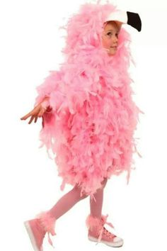 Flamingo - we have feather boas if you want to make this for Olivia ;)