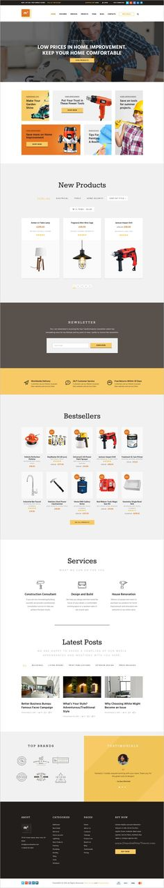 m2 is wonderful responsive 3in1 #WordPress theme for construction #equipment and building tools #store eCommerce website download now➩ https://themeforest.net/item/m2-onstruction-equipments-and-building-tools-store/17749796?ref=Datasata