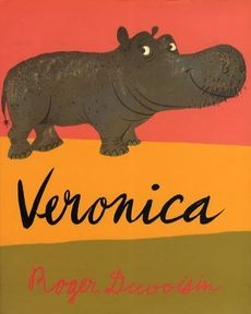 I wish I still had my Duvoisin books. Oh Veronica...(and this is what I pictured every time Elvis C sang his song...)