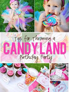 Candy Land Party Theme Decorations | Throw a Candy Land Themed BIrthday Party