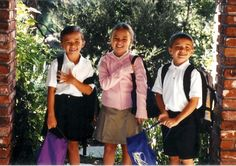 First day of School at Poly.
