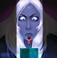 Steven Universe - Blue Diamonds Revenge by Zinrius.deviantart.com on @DeviantArt