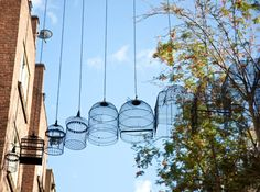 """I brought bird cages back to the Seven Dials area"" - Dominic Wilcox"