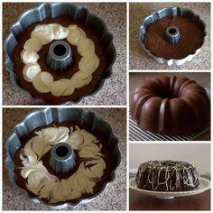 Recipes 17 |   CHOCOLATE BUNDT CAKE WITH A CREAM CHEESE SWIRL