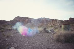 Rainbow Smoke Lisa Devlin   http://devlinphotos.co.uk