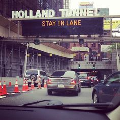 Here I go againon my own… Def Leppard #ny #hollandtunnel #newyork #manhattan #nyc