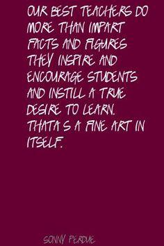 Our best teachers... #education #quote #teachers