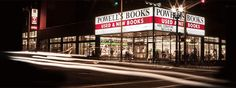 Powell's Books City of Books on Burnside- biggest bookstore in the world, they give you a map when you walk in...