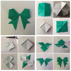 How To Make Easy Paper Bow Step By Papierowa