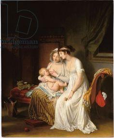 The Wet Nurse, c.1802 (oil on panel)