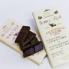 Invitatii de nunta ciocolata