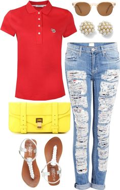 """Prep Pop"" by k-cat on Polyvore"